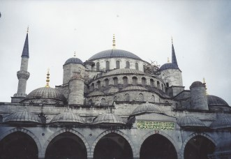 1998 Blue Mosque, Istanbul