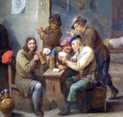 17th century tavern Tavern_Scene-1658-David_Teniers_II