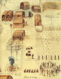 White's Indian village